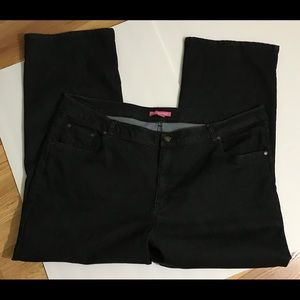 Woman Within black jeans size 24W  *Nice*rn#88842